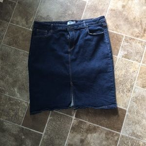 Old Navy Denim Pencil Skirt
